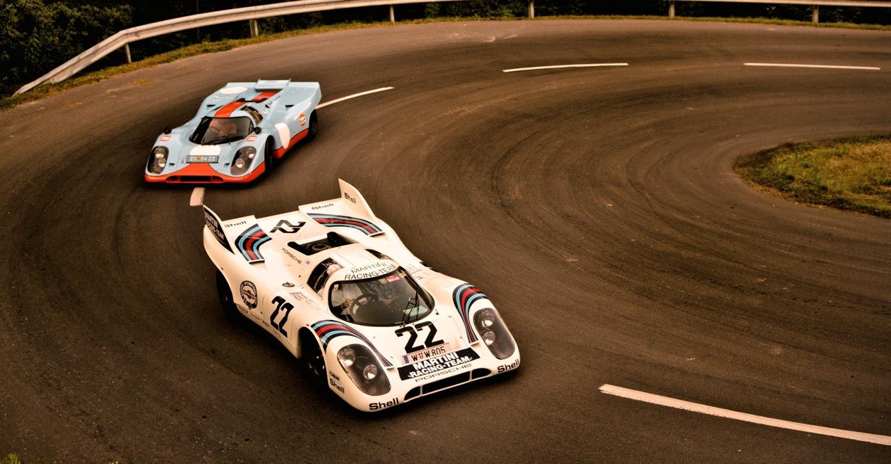 Motoring Monday 917LH (Martini Livery) & 917K (Wyer Gulf Livery)
